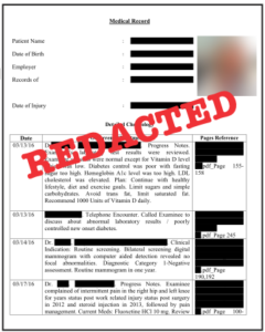 Redacted document example - thumbnail